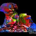 Mushroom Rock by Gunter Nezhoda