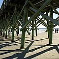 Myrtle Beach Pier by Allen Beatty