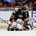 Nashville Predators V Anaheim Ducks - by Sean M. Haffey