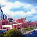 Nashville Skyline by Janet King