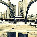 Nathan Phillips Square by Valentino Visentini