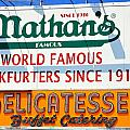Nathan's Sign by Valentino Visentini