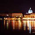 Naval Academy In Annapolis 2 by Benjamin Reed