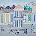 Neighborhood School by Volmar Etienne