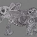 Nelly The Elephant Grey by Karen Larter