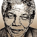 Nelson Mandela by J McCombie