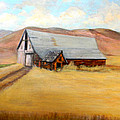 Nevada Barn by Judie White