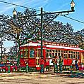 New Orleans Streetcar Painted by Steve Harrington