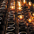 New Photographic Art Print For Sale Church Candles by Toula Mavridou-Messer