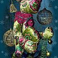 New-year Bear by Svitlana Denysova