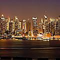 New York City Skyline by Anthony Sacco