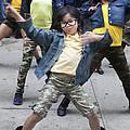 New York Dance Parade 2013 Young Female Dancer by Robert Ullmann