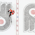 New York Islanders V Philadelphia Flyers by Len Redkoles