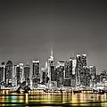 New York Skyline by Marvin Blaine