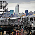 New York Train by Marvin Blaine