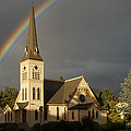 Newman United Methodist Church by Mick Anderson