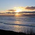 Newport Oregon Sunset by Athena Mckinzie
