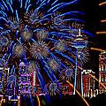 Niagara Fireworks by Alice Gipson