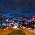 Night Lights by Debra and Dave Vanderlaan