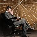 Nikola Tesla by Nikola Tesla Museum/science Photo Library