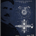 Nikola Tesla Patent From 1891 by Aged Pixel