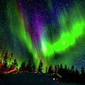 Northern Lights, Lapland, Sweden by Panoramic Images