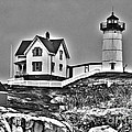 Nubble Lighthouse Cape Neddick Maine by Glenn Gordon
