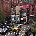Nyc Street Scene by Susan Garren