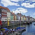 Nyhavn - Copenhagen Denmark by Jon Berghoff