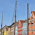 Nyhavn In Copenhagen Denmark - Famous Tourist Attraction by Aleksandar Mijatovic