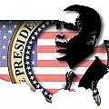 Obama-2 by Chris Van Es