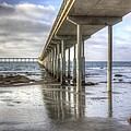 Ocean Beach Pier by Photographic Art by Russel Ray Photos