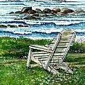Ocean Chair by Steven Schultz