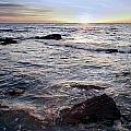 Ocean Sunset by Tim Hester