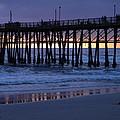 Oceanside Pier Sunset by Eric Johansen