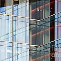 Office Building Windows by Henrik Lehnerer