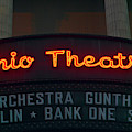 Ohio Theater Marquee Theater Sign by Panoramic Images