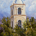 Ojai Post Office Tower II  2014 by Patricia  Cluche