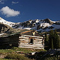 Old Cabin In Rocky Mountains by Michael J Bauer