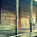 Old Country Front Porch by Diana Berkofsky