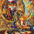 Old General by Leonid Afremov