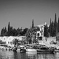Old Harbour In Spetses Town by Paul Cowan