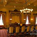 Old House Of Delegates Room Of The Maryland State House by Mark Dodd