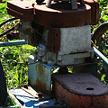 Old Junky Lawn Mower by Doc Braham