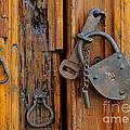 Old Lock, Mexico by John Shaw