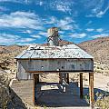 Old Mine On Old Toll Road In Death Valley by Alyaksandr Stzhalkouski