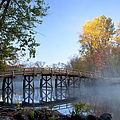 Old North Bridge Concord by Brian Jannsen