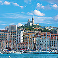 Old Port Of Marseille by Gurgen Bakhshetsyan
