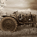 Old Tractor  by Cliff Norton