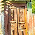 Old Wooden Door by Alain De Maximy